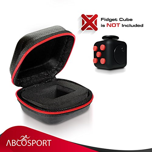 Fidget Cube Box – Store & Carry Your Fidget Cube Safely – Equally Ideal as Organizer or Case for Small Pieces of Jewellery, Earphones, Coins (Fidget Cube Not Included) -