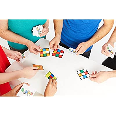 University Games Rubik's Battle Card Game (Tin): Toys & Games