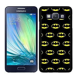 Funda carcasa para Samsung Galaxy A7 estampado Batman superhéroe borde negro