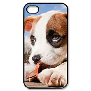 Hard Shell Case Of Pit Bull Terrier Customized Bumper Plastic case For Iphone 4/4s