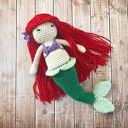 Crochet Mermaid Doll Pattern – Stricken Wolle | 500x500