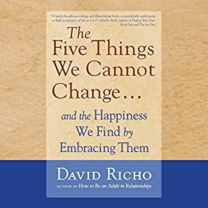 The Five Things We Cannot Change.... Audiobook