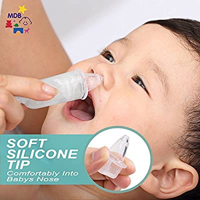 Amazon.com: Nariz congestión Snotsucker para bebés de 0 – 36 ...