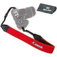 MegaGear Neoprene Camera Shoulder Strap For Canon DSLR SLR (RED) [Camera]
