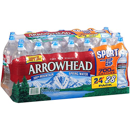 Arrowhead Brand Mountain Spring Water, 23.7 oz