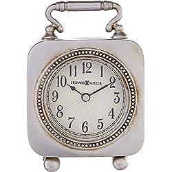 Howard Miller Kegan Table Clock 645-615 - Dial Light with Quartz Alarm Movement