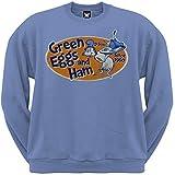 dr dish - Dr. Seuss - Mens Eggstra Special Sweatshirt Large Light Blue OG Exclusive