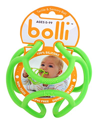 OgoSport Bolli – Flexible Teether Ball (Assorted, Colors May Vary)