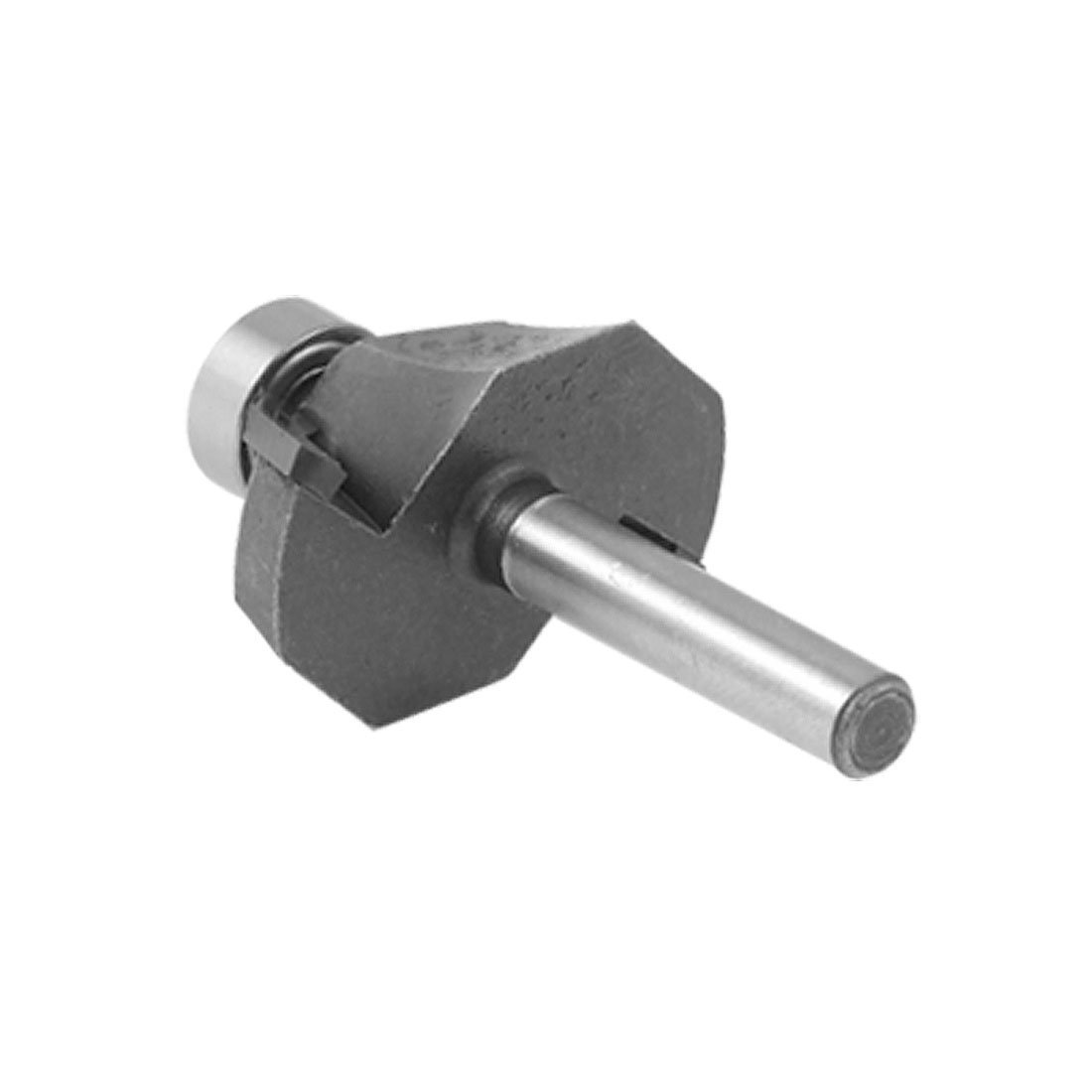 uxcell 5//8 inches Cut Length 1//4 inches Shank 45 DegreeChamfer Router Bit