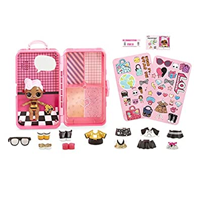 L.O.L. Surprise! Style Suitcase Electronic Playset - D.J: Toys & Games
