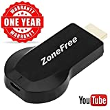 Wifi Display Dongle Airplay Miracast Receiver for iphone/Android Screen Mirroring Adapter 1080P Wireless HDMI for TV/Projector with Charger