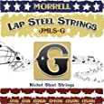 Morrell JMLSG Premium 6-String Lap Steel Guitar Strings for G Tuning 16-58 (3-Pack)