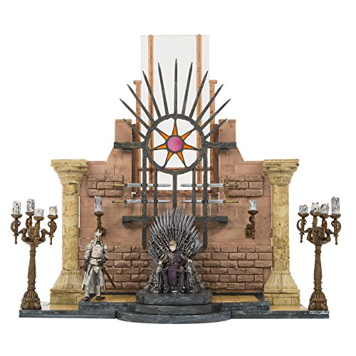 McFarlane Toys Game of Thrones Iron Throne Room Construction Set (Game Of Thrones King)