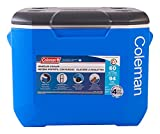 Best Wheeled Coolers - Coleman Performance Wheeled Cooler, 60-Quart, Blue/White/Dark Gray Review