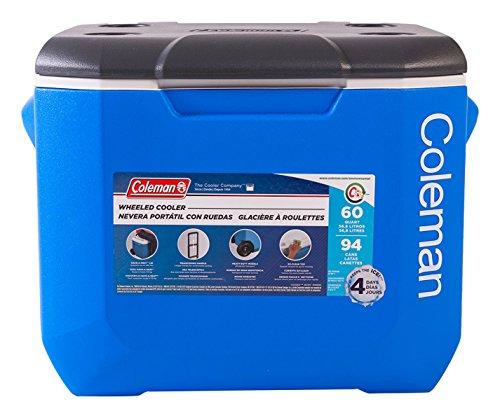 60 quart wheeled cooler - 7