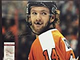 #3: Autographed/Signed Sean Couturier Smiling 16x20 Philadelphia Flyers Hockey Photo JSA COA