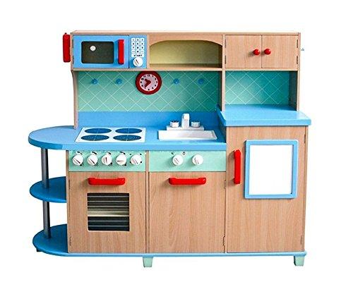 Spielküche für Jungs - Kinderküche Aga4Kids SKY BLUE