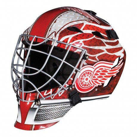 fan products of Detroit Red Wings Full Size Youth Goalie Hockey Mask