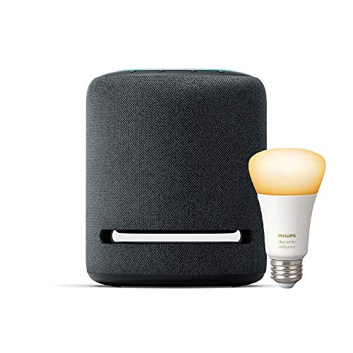 Echo Studio with Philips Hue Bulb - Alexa smart home starter kit