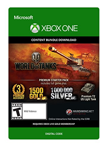 World of Tanks Premium Starter Pack - Xbox One Digital - Tanks World Of