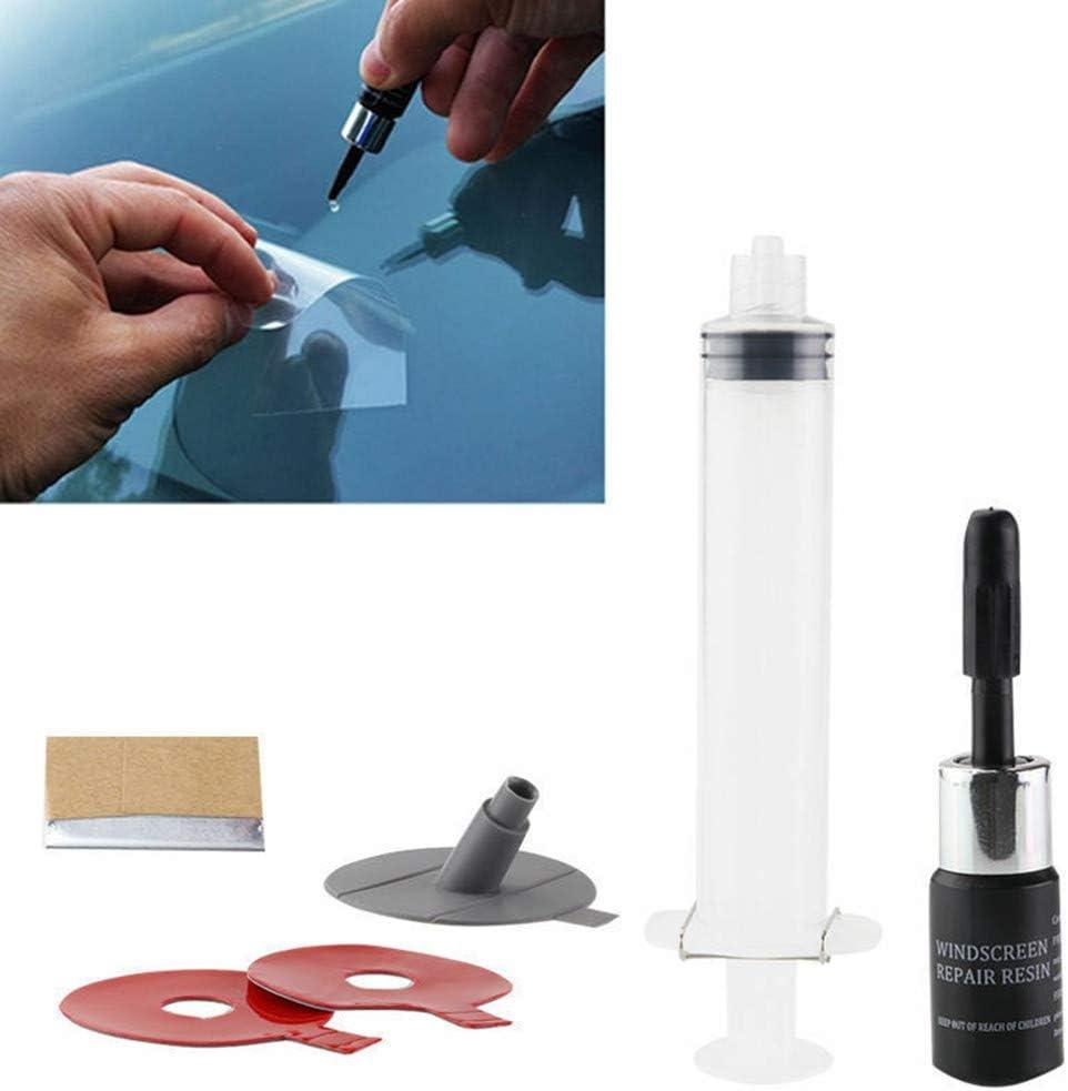 JFSJDF Auto Windschutzscheibe Windschutzscheibe Glas Scratch Chip Crack Set Autoreparaturwerkzeug DIY Kit