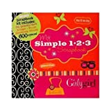Paper Boutique My Simple 1-2-3 Scrapbook Kit Girly Girl 600 Piece