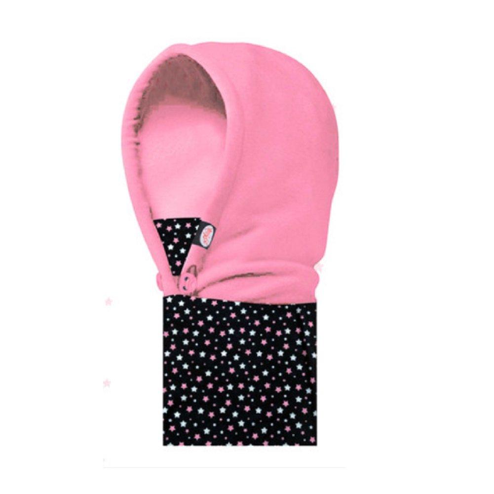 Janlyy Kids Children Balaclava Neck Warmer Fleece Hood Boys Girls Winter Windproof Hat Cap Scarf
