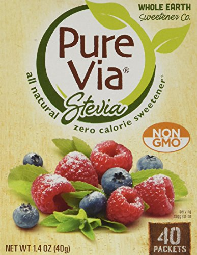Make Creamy Coconut Pumpkin Pie Mousse with PureVia Zero Calorie Sweetener, 40-Count Packets (Pack of 4)