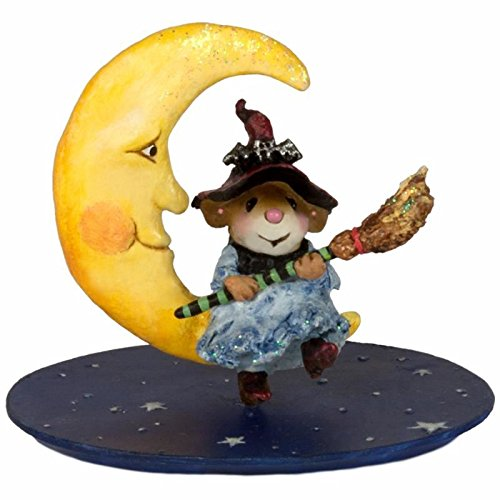 Wee Forest Folk M-623 Broom to the Moon! made in New England