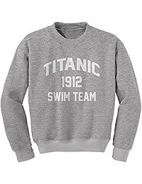 Expression Tees Titanic Swim Team 1912 Crewneck Sweatshirt
