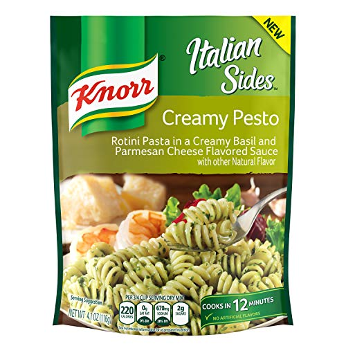 - Knorr Pasta Side Dish, Creamy Pesto, 4.1 oz