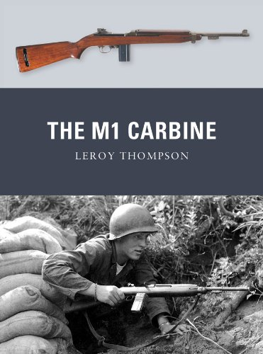 amazon com the m1 carbine weapon book 13 ebook leroy thompson