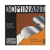 Thomastik-Infeld 196 Dominant Nylon Core Bowed Bass Strings, Medium Gauge, 3/4 Scale, Set of 4