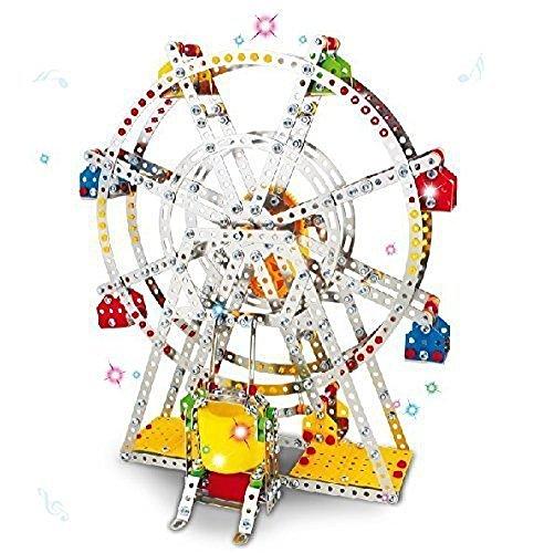 Ferris wheel Building screws Lights