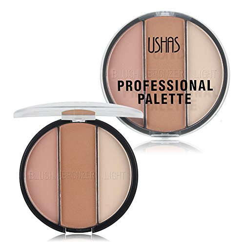 TaiMei Cosmetic Bronzer Highlighter Powder Makeup Palette Trimming Powder Base Contour Powder (02)