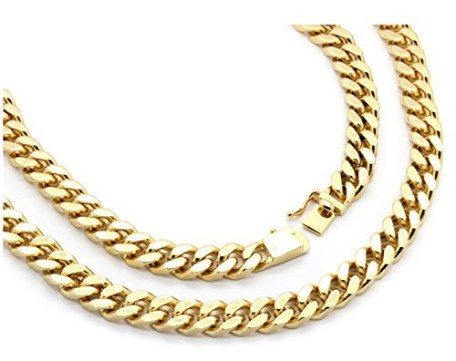 14K-Gold-Chain-Necklace-for-men-11MM-Miami-Cuban-Link-w-Real-Solid-Big-Snap-Clasp-24-Inch-Hip-Hop
