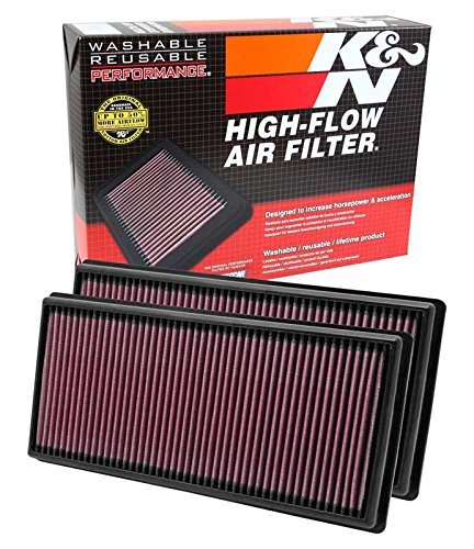 Range Rover Air (K&N 33-2446 High Performance Replacement Air Filter - Pack of 2)