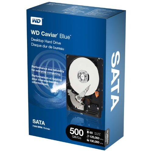 WD Blue Desktop 500GB SATA 3.0 GB/s 7200 RPM 16MB cache 3.5-Inch Internal Desktop Hard Drive Retail Kit by Western Digital (Image #9)