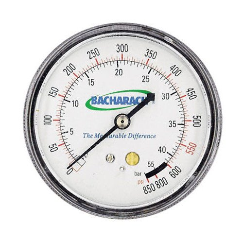 (Bacharach 2063-0160 High Pressure Gauge for Stinger High Performance Oilless Commercial Refrigerant Recovery Unit )