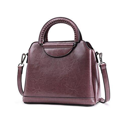 Genuine leather Purses Ladies Designer Satchel Tote Bag Shoulder Bags
