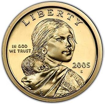 2005-S       SACAGAWEA  $1        GEM  PROOF
