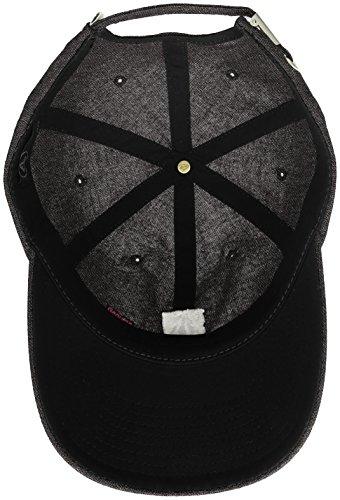 Pixel PE18 Black Stone Negro cappellino Volcom 1Fqdq