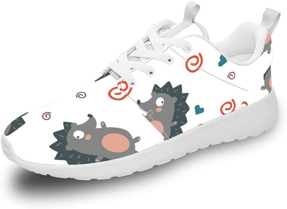 Mesllings Zapatillas de Correr Unisex con diseño de erizos de Dibujos Animados, Ligeras, para Deportes al Aire Libre: Amazon.es: Zapatos y complementos