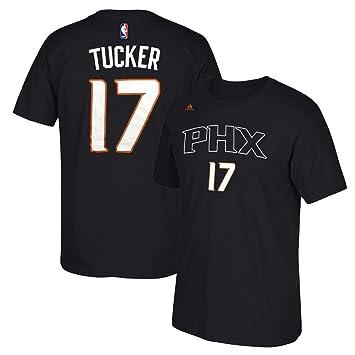 Adidas P.J. Tucker Phoenix Suns NBA Negro Nombre y número Jugador Equipo de Jersey Color Camiseta de Manga Corta para Hombre, Negro: Amazon.es: Deportes y ...