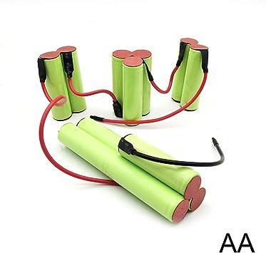 Batería para aspiradora Electrolux ZB3004 NV144NIBRC (tipo AA, 2500 mAh, 14,4 V): Amazon.es: Bricolaje y herramientas
