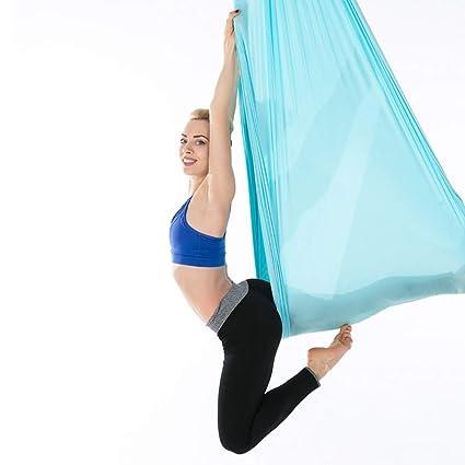 Hamaca de yoga aérea, estiramiento por gravedad Estiramiento ...