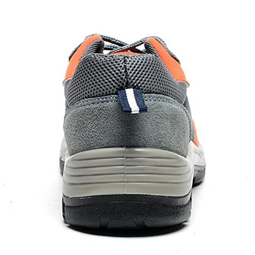 Shoes Shoes Shoes Work Safety Orange Comp Steel Optimal Toe Gray Men's xIqA6AR