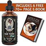 Mister Ben's Original Ear Tonic w/Aloe for Dogs - Most Effective Dog Ear Cleaner Drops - a Cleanser & Treatment Providing Fast Relief from infections, itching, Odors, Bacteria, Mites, Fungus & Yeast