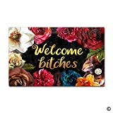 MsMr Funny Doormat - Welcome Bitches - Indoor Outdoor Welcome Mat Deal