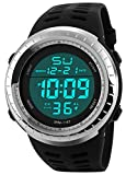 RUIWATCHWORLD Men LED Digital Military Watch Fashion Sports Watches Dive Swim Outdoor Casual Wristwatches For Men